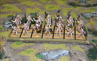 Unarmoured Skeleton Regiment