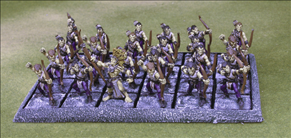 24 Figures on 25mm Square Bases