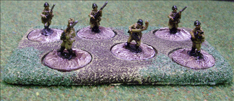 6 Figures on 20mm Round Bases