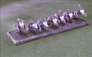7 Cavalry on 25x50mm bases
