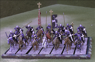 14 Cavalry on 25x50mm bases