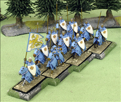10 Cavalry Wedge Movement Tray