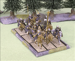 150x75mm Tray with 9 Cavalry