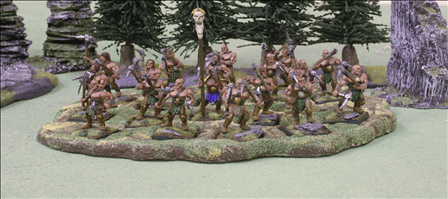 18 Figures on 25mm Bases