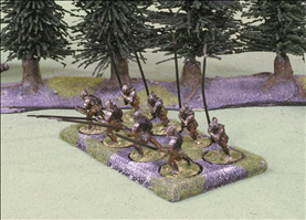 8 Figures on 25mm Round bases