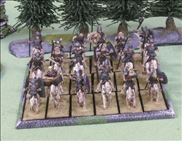 18 Cavalry on 25x50mm Bases