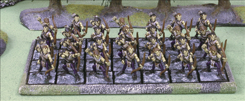 28 Infantry on 25mm square bases