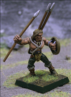 Javelin Thrower 9 - Front View
