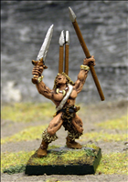 Barbarian Javelin Thrower 2