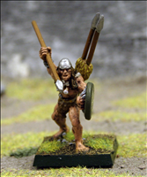 Javelin Thrower 5 - Front View