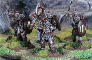 Orc Warriors with Axe & Shield