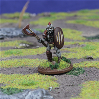 Orc Warrior 3 with Axe & Shield - Front view