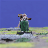 Dwarf Hero with Warhammer