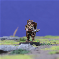 Dwarf Warrior 4 with Crossbow - Front view