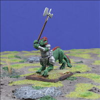 Heirosaur with Great Weapon