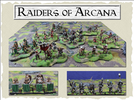 Raiders of Arcana Figures & Rules