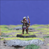 Female Human Warrior with Longbow 1