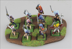 Movement Trays with 20mm Square Cutouts