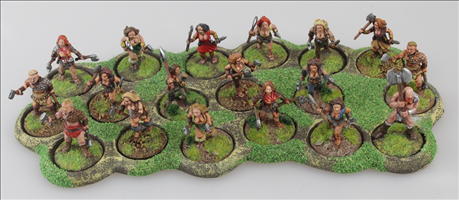 18 x 25mm Round Bases