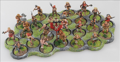 24 x 25mm Round Bases