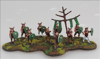 Faun Warriors Regiment Set
