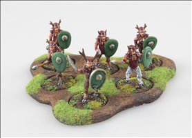 Faun Warriors Raiders Units
