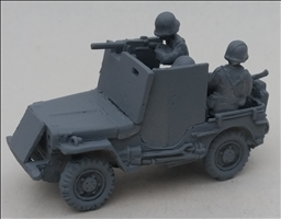 Armoured Jeep with 30.cal