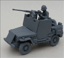 Armoured Jeep with 50.cal