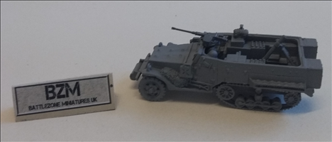M4 Half-track 81mm mortar carriage