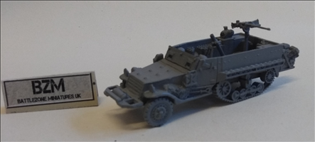 M21 81mm half-track Mortar carriage