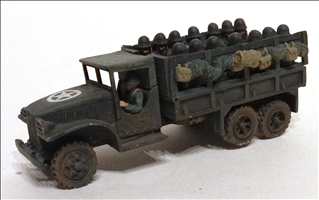 GMC CCKW353 Canvas Cab Seated Troops