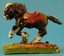 Barbarian Horned Horse