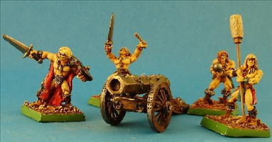 Barbarian Canon and Artillery Crew