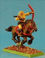 Light Cavalry archer- Side View