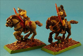 Mounted Barbarian Archers