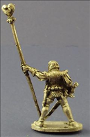 Dark Elf Standard Bearer - Rear View