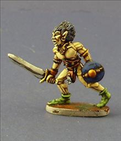 Wood Elf Swordbearer- Front View