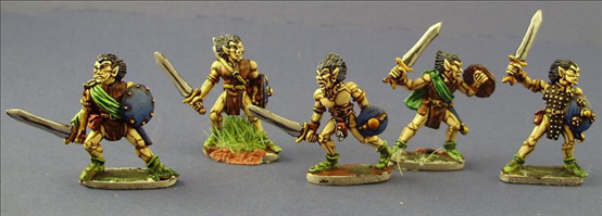 Wood Elf Swordbearers