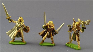 Wood Elf Characters Set