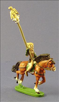 Wood Elf Cavalry Standard Beare- Front View