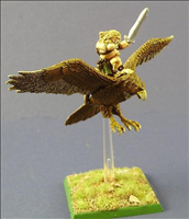 Wood Elf Eagle Rider- Front View