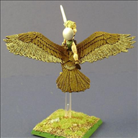 Wood Elf Eagle Rider-Rear View