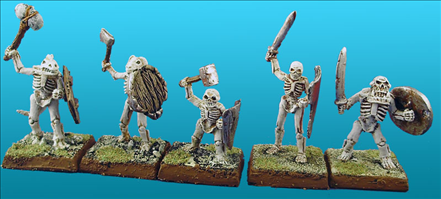 Unarmoured Skeletons