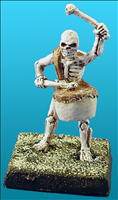 Unarmoured Skeleton Musician - Front View