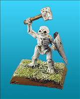Unarmoured Dwarf Skeleton