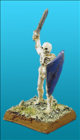 Unarmoured Elf Skeleton