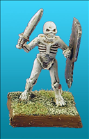 Unarmoured Human Skeleton - Front View