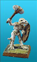 Unarmoured Lizardman Skeleton