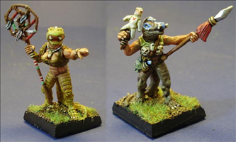 Lizardmen Mages