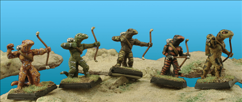 Ophidian Archers - Set of 5